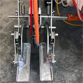 Abstreifer und Farbauffangbehälter für GD001