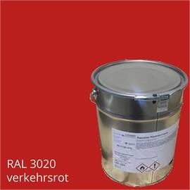 BASCO®field verkehrsrot in 10 kg Gebinde RAL 3020