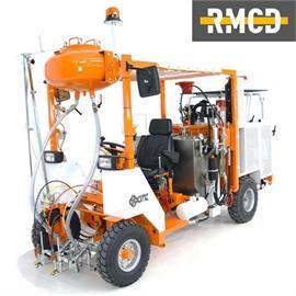 CMC AR 300 - Straßenmarkiermaschine mit unterschiedlichen Konfigurations-Möglichkeiten