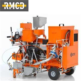 CMC 60 C-ST Kaltplastik-Markierungsmaschine für Flachstriche, Agglomerate und Rippen