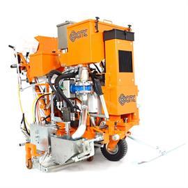 CMC Universal Kaltplastik-Markierungsmaschine für Flachstriche, Agglomerate und Rippen