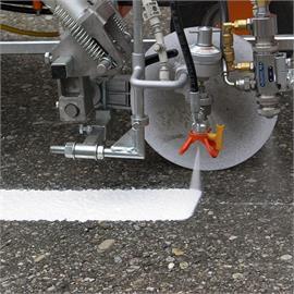 Fahrbahn Markierungsmaschinen