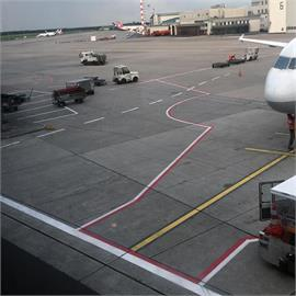 Flughafenmarkierungen