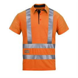 High Vis A.V.S.Polo Shirt, Klasse 2/3, Gr. XXL orange