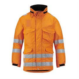 High Vis Winterparka Klasse 3