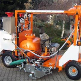 Kaltplastikmarkierungsmaschine - Aufsitzmaschinen