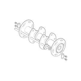 Lamellensatz für TR 600, 8-Kant-Lamellen und Zwischenscheiben