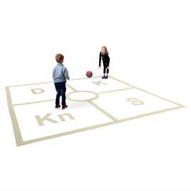 MeltMark Spielplatzmarkierung - Ruta (King out)