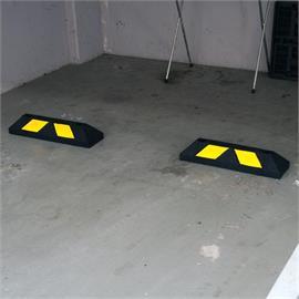 Park-It Home schwarz 55 cm - gelb gestreift
