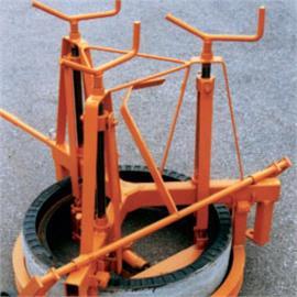 Schachtrahmenheber mechanisch für Schächte mit Durchmesser ca. 625 mm