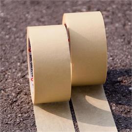 Crepe-afdækningstape 50 mm bred
