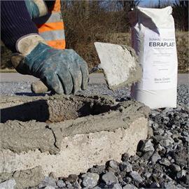 EBRAPLAST-mørtel til murværk med aksel
