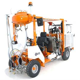 CMC AR 500 - Μηχανή διαγράμμισης οδών με διαφορετικές δυνατότητες διαμόρφωσης