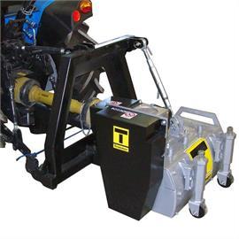 Μηχανική μηχανή φρεζαρίσματος TR 600 M με εξάρτημα οριοθέτησης