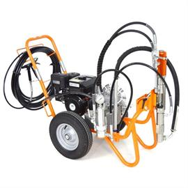 Airless pumps for painting jobs