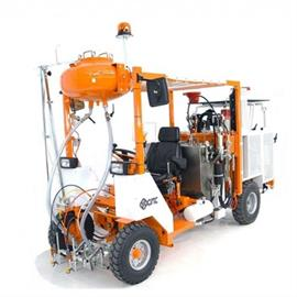 Airless Ride-on road marking machine