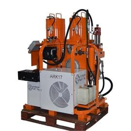 Airless road marking machine for lines/surfaces - for platform trucks