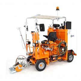 Airspray road marking machines/ride-on machines