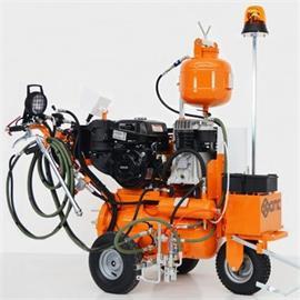 Airspray road marking machines