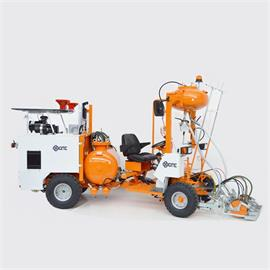 AR 250 SN Central-steering Ride-on Airless Road marking machine