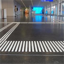 Carton marking stencils for tactile markings
