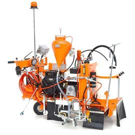 CMC AR 100 G - Airless road marking machine with hydraulic drive - 2 Wheels in front