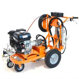 CMC AR 30 Pro-P 25 H - Airless road striper with piston pump 8.9 L/Min and Honda engine