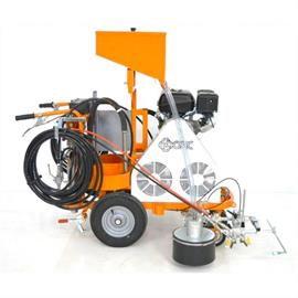 CMC AR 30 ProP-2C - Airless road marking machine with 2 piston pumps 6.17 L/Min