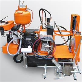 CMC AR 60 2C Airless road marking machine with 2 colours or 1:1 Coldsprayplastic