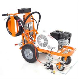 CMC AR 30 PROP-H - Airless road marking machine with piston pump 6,17 L/min and Honda engine