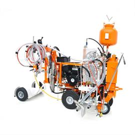 CMC AR30ITPP - Airless road marking machine with hydraulic drive and piston pump