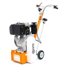 CMC - CM 300D demarcation milling machine with diesel engine - 20 cm