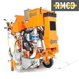 CMC Universal Cold-Plastic marking machine for flat markings, agglomerates and rib-marking