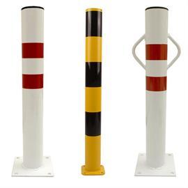 Fix-mounted locking posts
