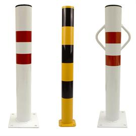 Fixed mounted bollards
