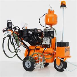 L 50 ITP Airspray Road marking machine with hydraulic drive