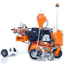 L 50 ITPPV Airspray Road marking machine with hydraulic drive