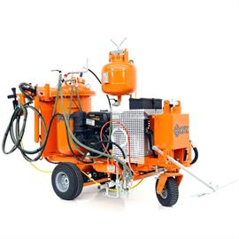 L 60 ITP Airspray Road marking machine with hydraulic drive