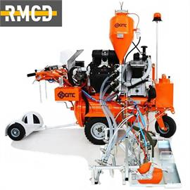 L 120 Airspray Road marking machine with hydraulic drive for wide road markings