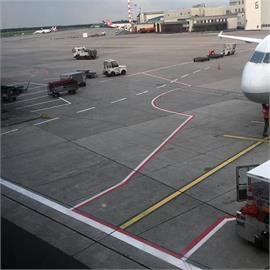 Marking machines for airports