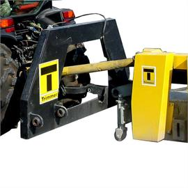 Mechanically driven mountable mills
