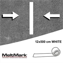 MeltMark roll white 500 x 12 cm