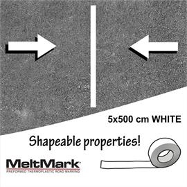 MeltMark roll white 500 x 5 cm
