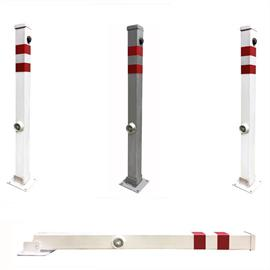Movable metal bollards