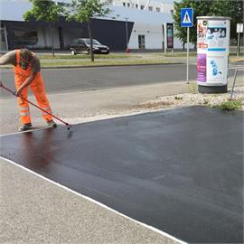 Rehabilitation of emaciated asphalt pavements