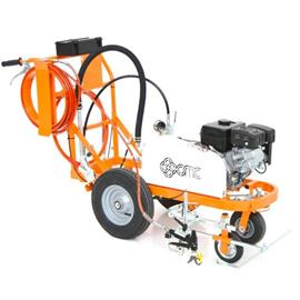 Road marking machines