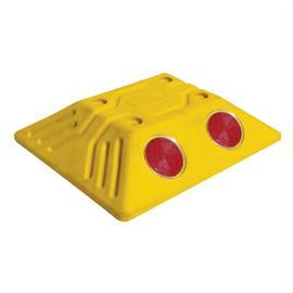 Road stud yellow
