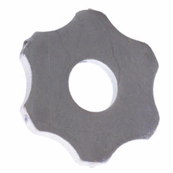 Set with six-star-cutters 54 x 6 mm suitable for Von Arx VA 25 S
