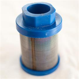 Suction filter blue