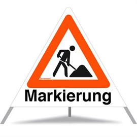 Triopan Road marking (same on all three sides)  Height: 70 cm - Normal